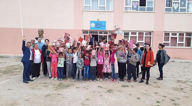 Kırıkkale'de, Kardeş okullar kitap okudu