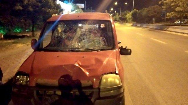 Kırıkkale'de aracın çarptığı kişi öldü