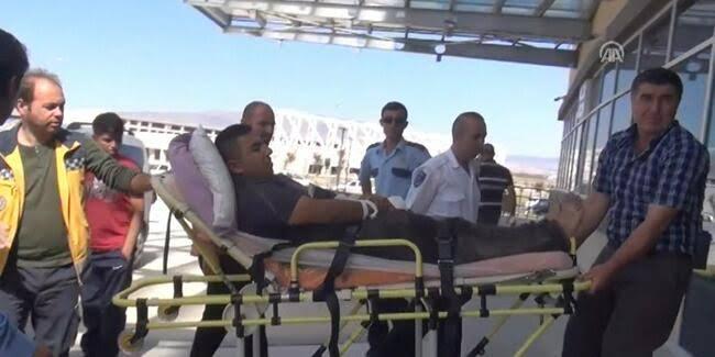 Kırıkkale'de, Acemi kasaplar soluğu acilde aldı