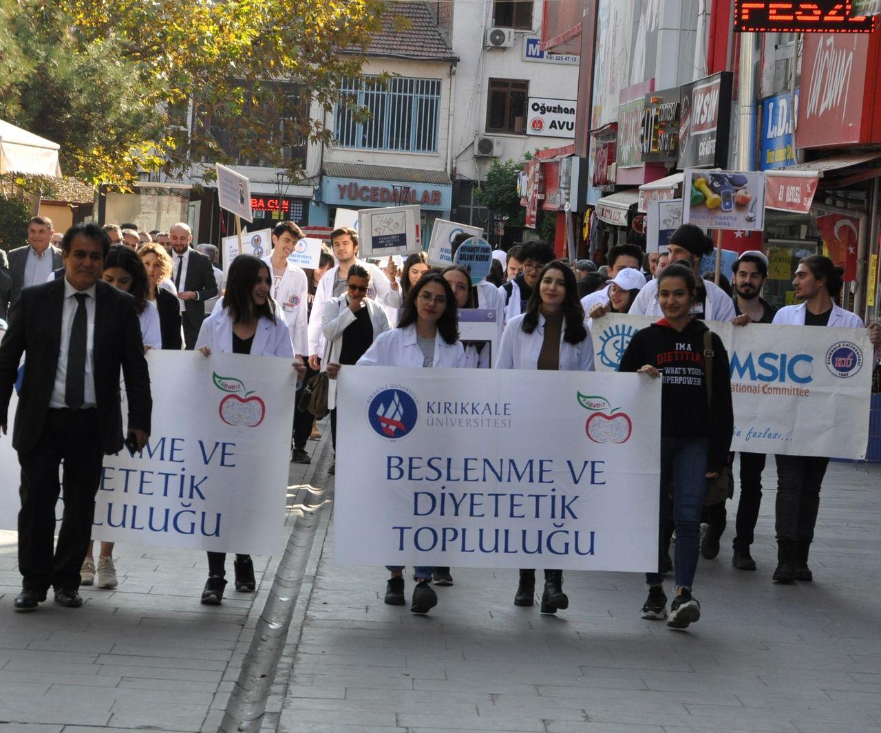 Kırıkkale'de, 14 Kasım Dünya Diyabet Günü