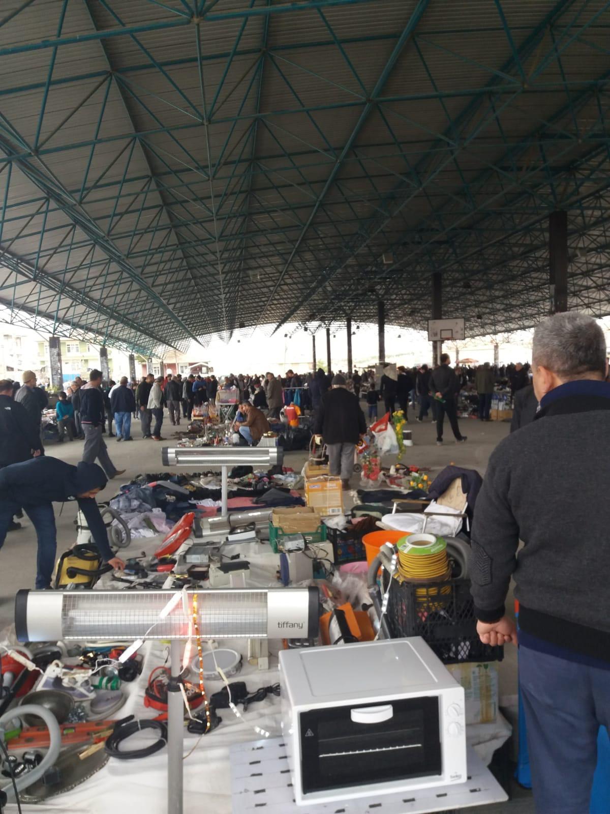 Kırıkkale'de 2. el eşya pazarına yoğun ilgi