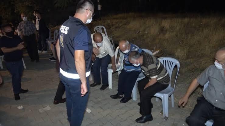 Kırıkkale'de organizasyonlarda Korona Denetimi