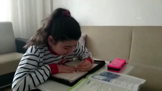 Uzaktan eğitimle ders başı başladı