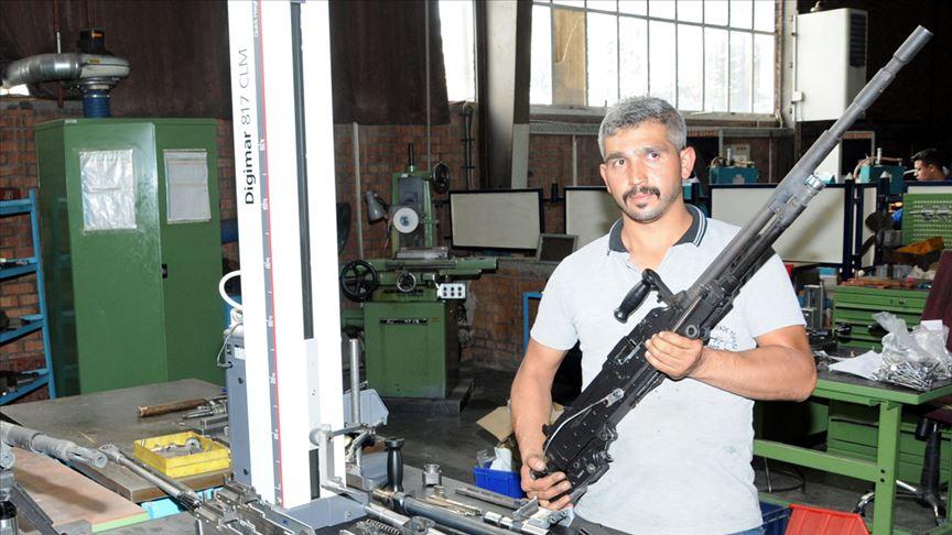 Yeni tüfek PMT-76