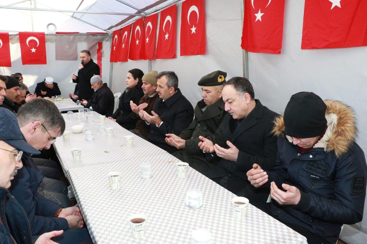 İdlip Şehiti İçin Mevlüt Okutuldu