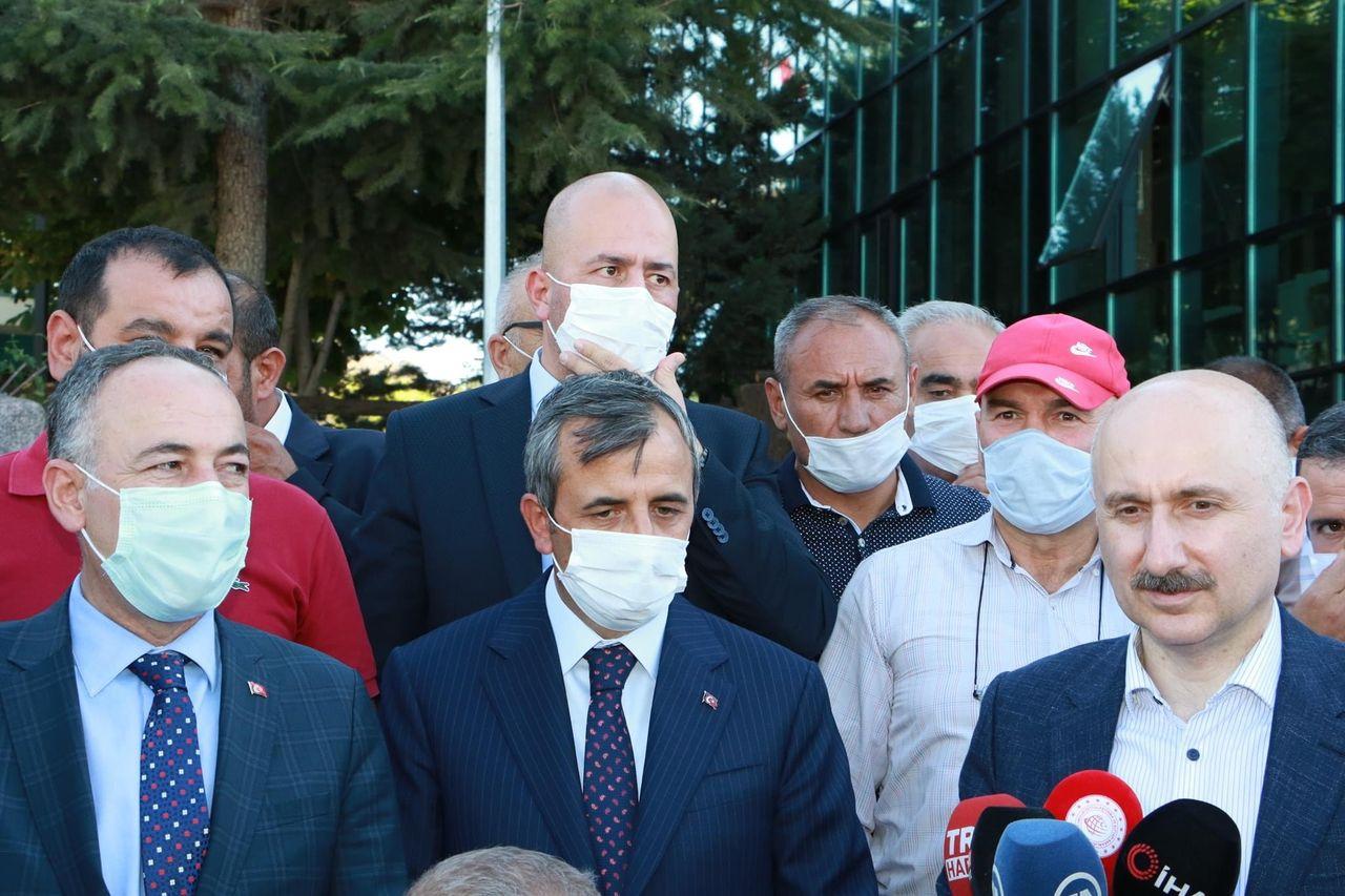 Ulaştırma Bakanı Kırıkkale de