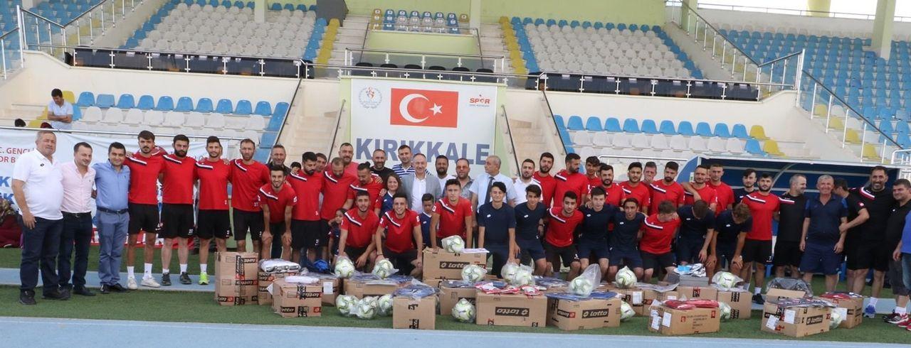 Başkan Saygılı'dan Kırıkkalespor'a tebrik