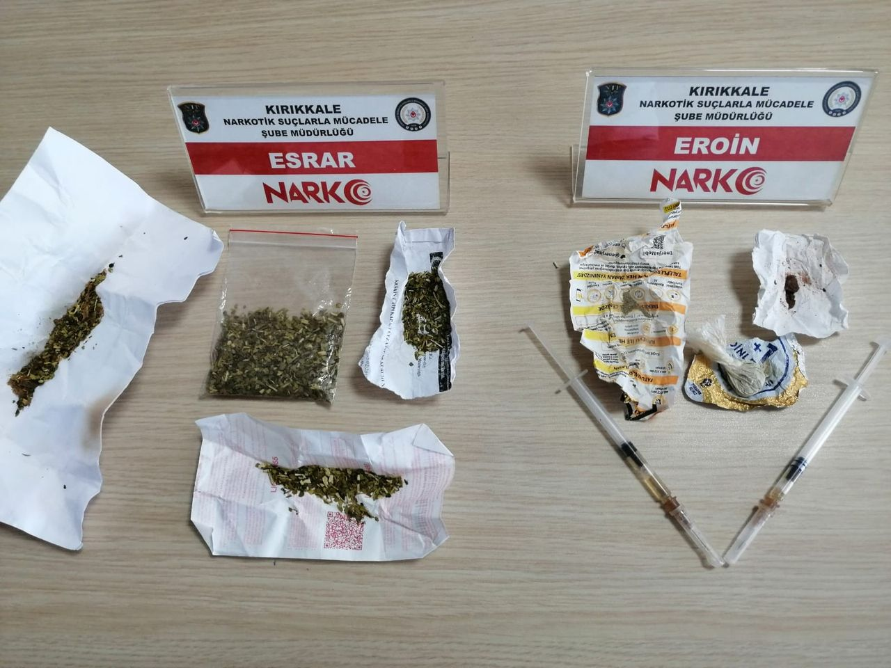 Uyuşturucu operasyonu, 4 tutuklama