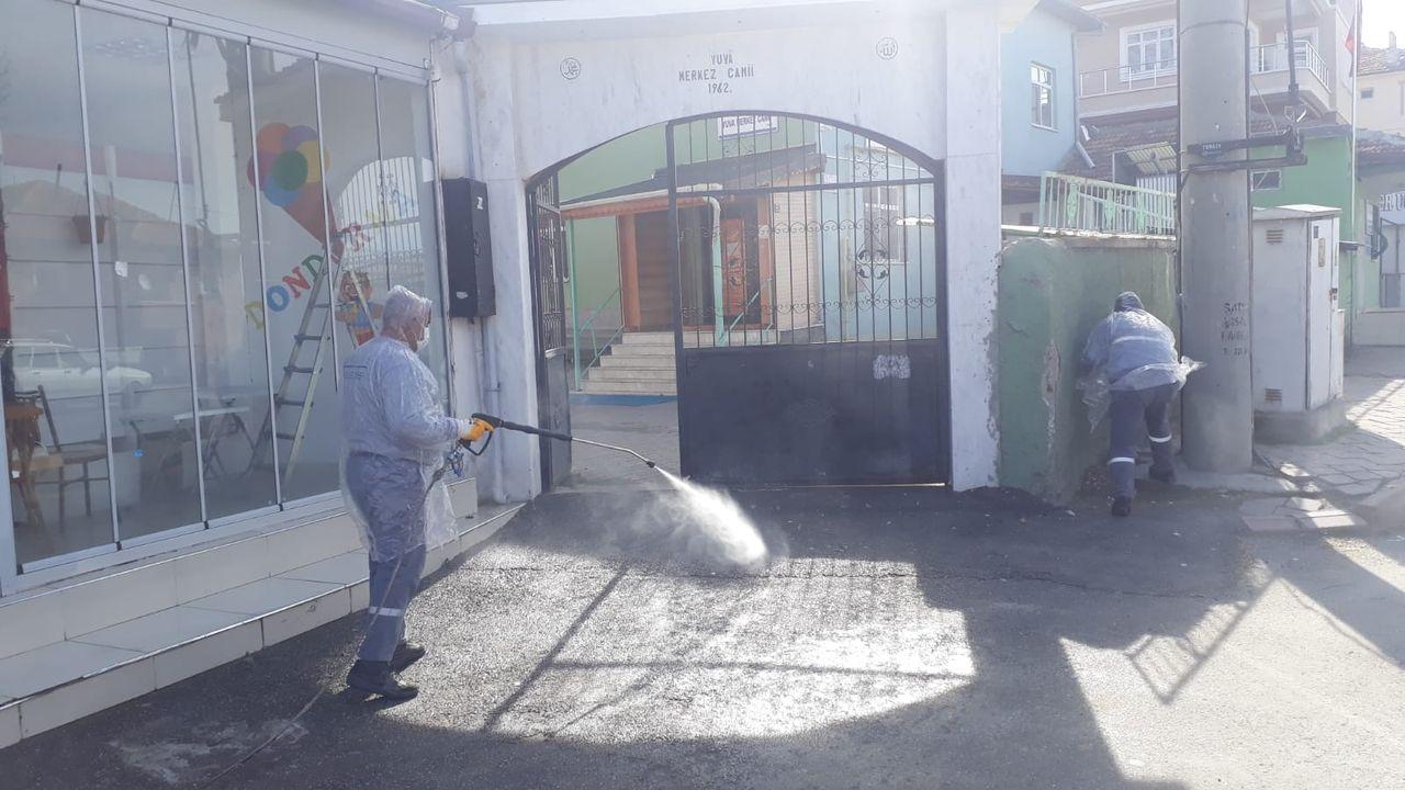 Kırıkkale, 24 saat dezenfekte ediliyor