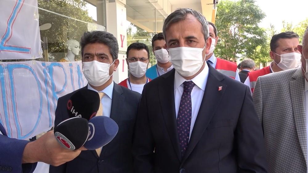 Kırıkkale'de, koronavirüs denetimi
