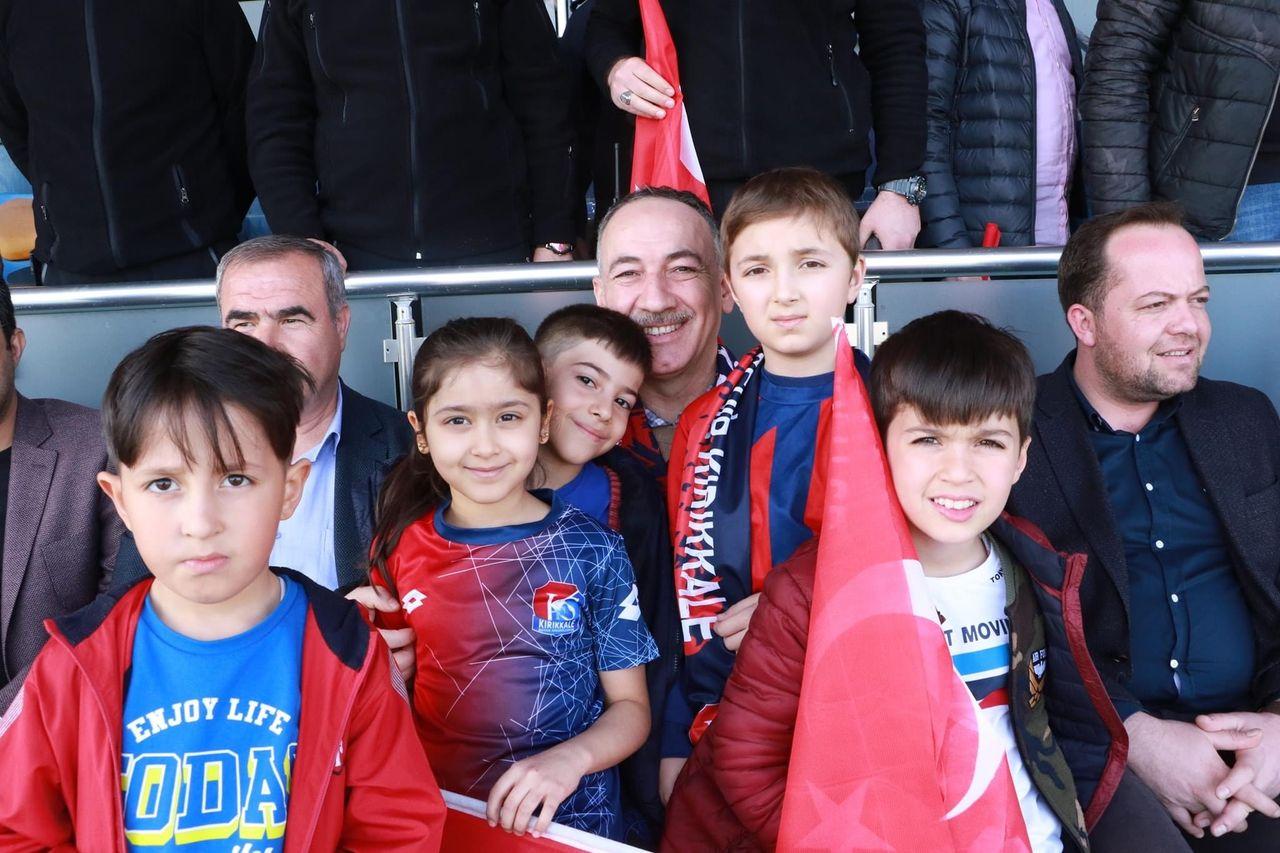 Saygılı'dan Kırıkkalespor'a Tebrik