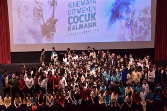 Kırıkkale'de bin 727 öğrenci sinema ile buluşacak